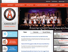 Tablet Preview of amherstschools.org